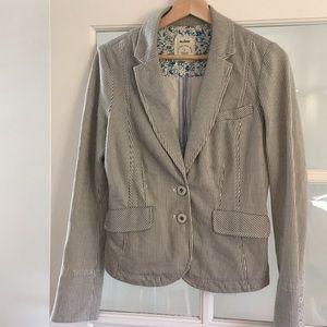 Anthropologie Allihop Striped Jacket